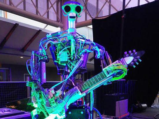 Роботы устроят рок-концерт на «Ночь в музее»