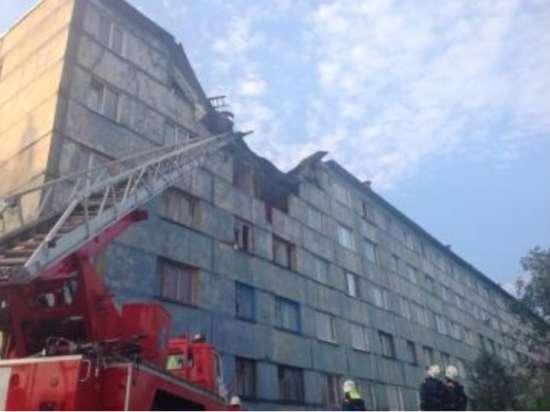 В жилой многоэтажке Мурманска произошел взрыв газа. Погибла пожилая женщина