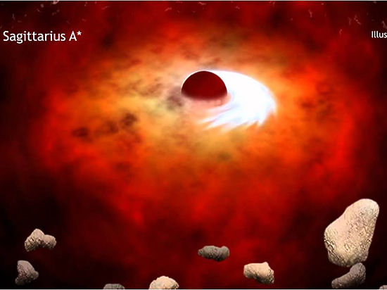 Российские астрономы придумали, как увидеть тень черной дыры в центре Млечного пути