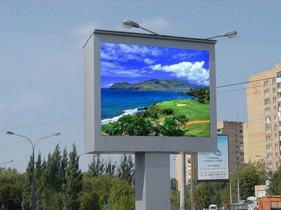 Уличные светодиодные экраны становятся важным маркетинговым инструментом