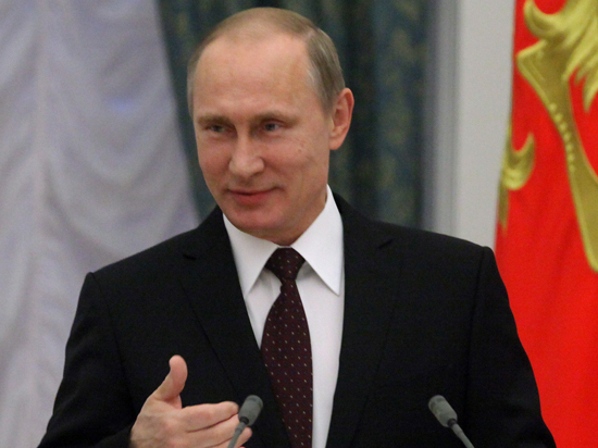 Журналисты предложили присвоить Путину звание Героя России за Крым