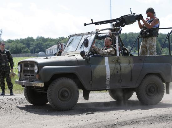 Украинская бронетехника ворвалась в Шахтерск; Донецку грозит полное окружение