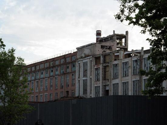 В Москве рушат исторические здания бывшей суконной мануфактуры