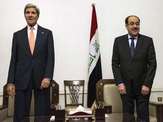 Война в Ираке: зачем госсекретарь США Керри неожиданно прилетел в Багдад?