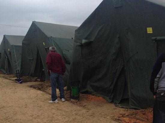 Беженцы под пулями бегут к границе с Россией