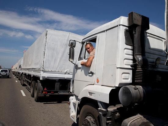 Второй гуманитарный конвой из России: дежа вю