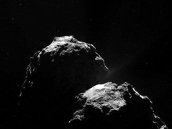 Ядро кометы Чурюмова-Герасименко содержит неизвестный металл