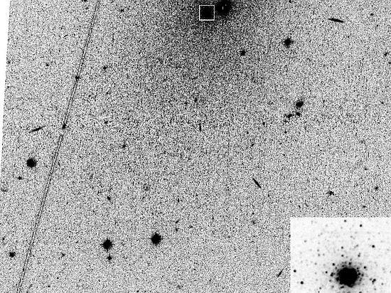 Российские ученые открыли галактику-