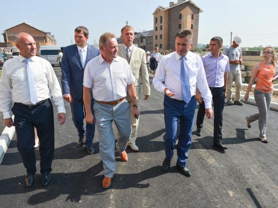 Глава Приморья: Приоритет в развитии Уссурийска – ускорение жилищного строительства