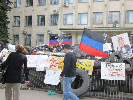 Рабочие Донбасса начинают ежедневные забастовки «против кровопролития»
