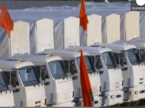 Гуманитарному конвою предстоит жаркий переезд границы и смена номеров