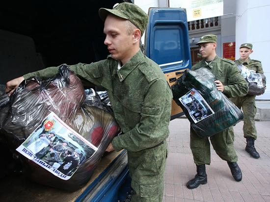 Гуманитарную помощь украинцам оказывают «вежливые люди»