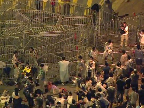 Массовые протесты в особом административном районе КНР идут на спад
