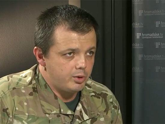 Семенченко: Украинские власти не оказывают помощи бойцам на фронте