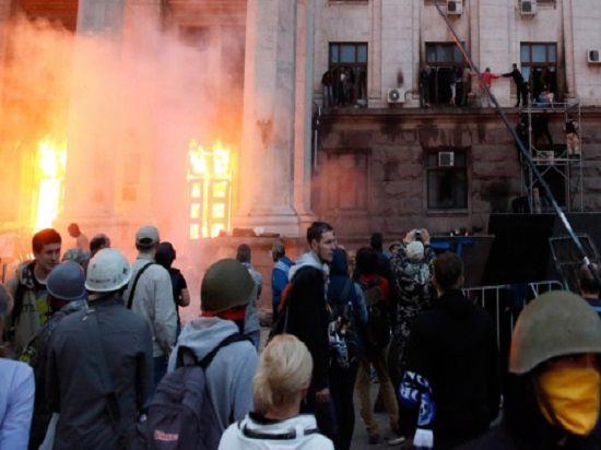 В одесском Доме профсоюзов люди погибли не от угарного газа