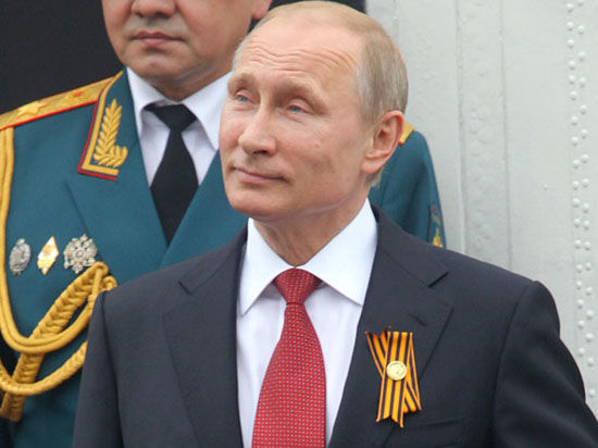 Путина провозгласили моральным авторитетом России