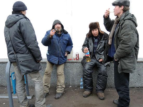 Насколько комфортно живут бродяги  в Москве