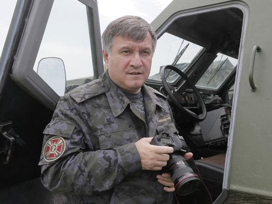 На главного украинского милиционера Авакова совершено покушение