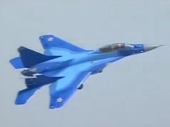 В Астраханской области рухнул истребитель МиГ-29
