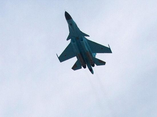 Ополченцы сбили украинский истребитель Су-27