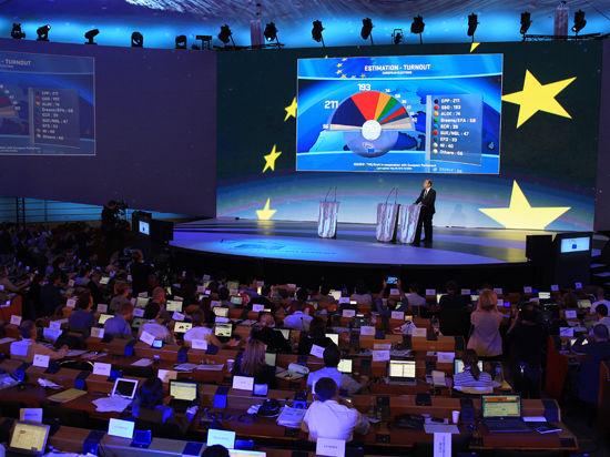 Евроскептики укрепили позиции на выборах в Европарламент