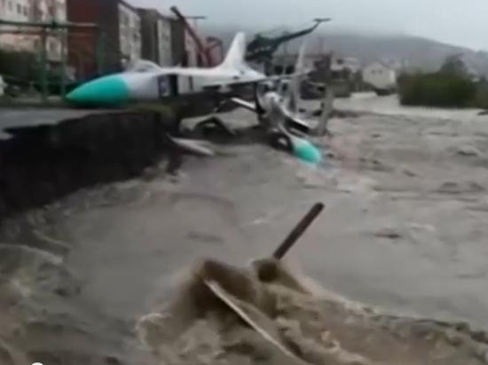 Магадан затоплен. МЧС предсказывает наводнения на Дальнем Востоке