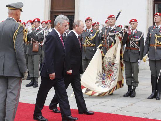 Путин использовал Австрию как площадку для диалога с Западом по Украине