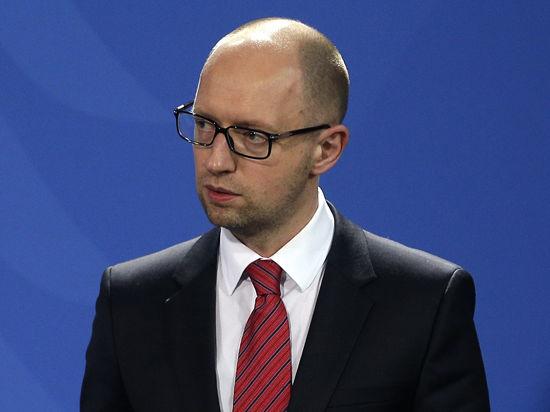 Яценюк просит Путина заблокировать российско-украинскую границу