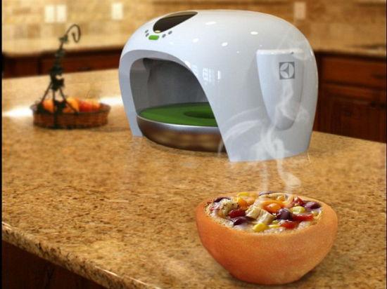 Вместо мытья: Иранский студент предложил выпекать посуду из теста