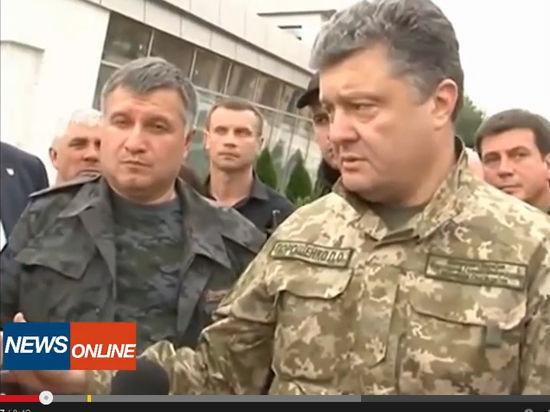 Порошенко продлил перемирие на востоке Украины на 72 часа