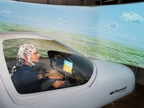 Профессиональные пилоты более не нужны: самолетом управлять сможет любой с помощью силы мысли