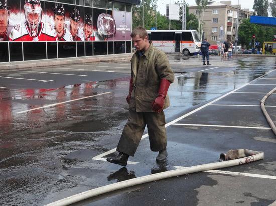 ХК «Донбасс» из-за сожженной арены может вылететь из КХЛ