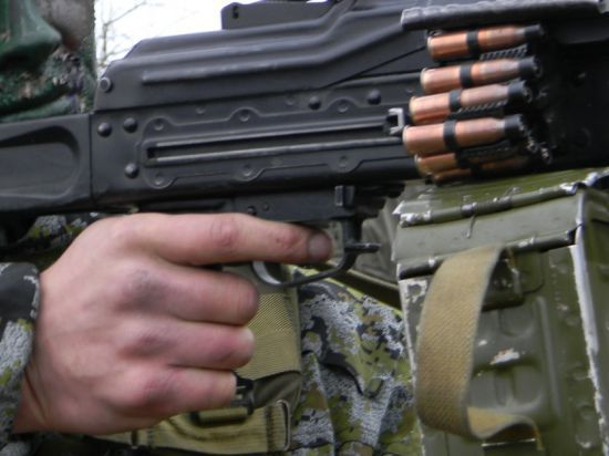 Военное положение в Донецке: «Танки ездят туда-сюда»