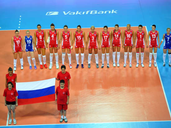 Как засудили в Турции женскую сборную России по волейболу