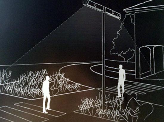 Пешеходов будут освещать вдоль и поперек