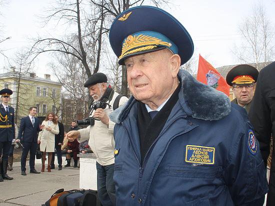 В Вологду почтить память Павла Беляева приехал лётчик-космонавт Алексей Леонов