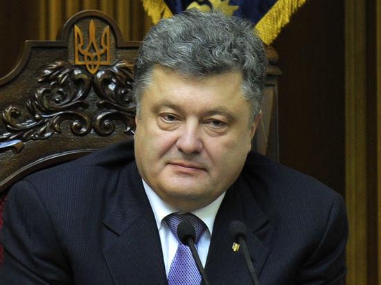 Порошенко отказал русскому языку в государственном статусе