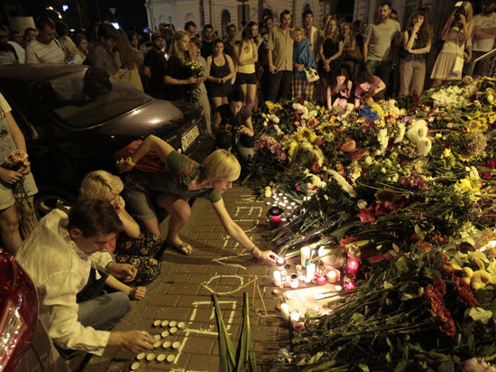 В Нидерландах объявлен национальный траур по жертвам катастрофы малайзийского лайнера