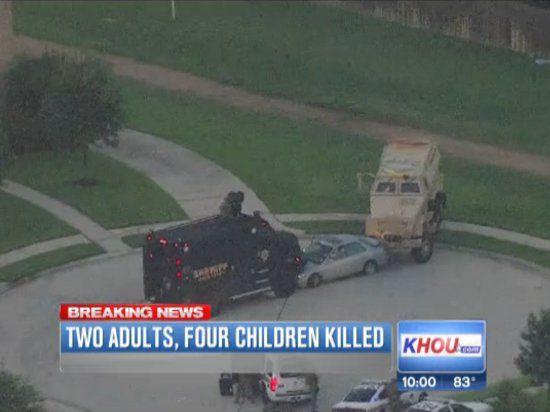 Отец убил собственных четверых детей, девочка выжила чудом