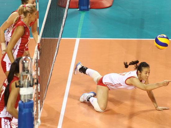 Сборная России по волейболу обыграла команду Китая и стала призёром Гран-при-2014