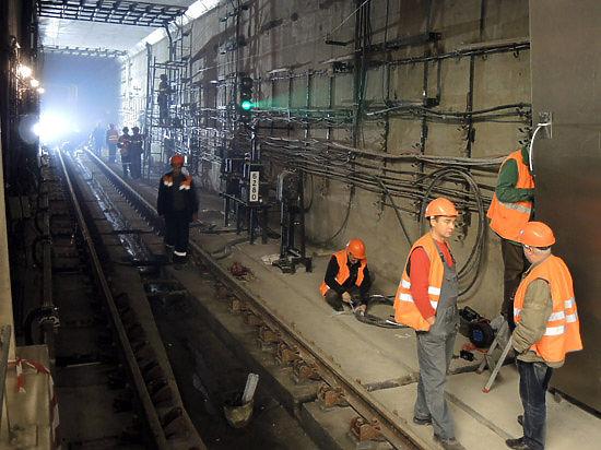 Московский метрополитен обновит инструкции по безопасности поездов во время ремонта на путях