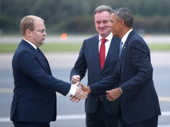 Барак Обама прибыл в Эстонию с