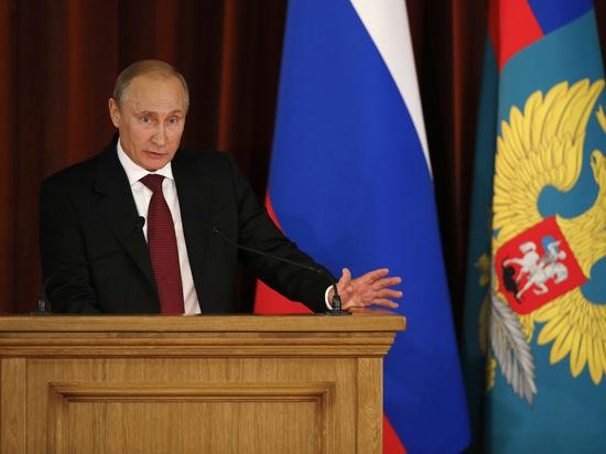 «Политика сдерживания». Эксперты оценили речь Путина перед послами в МИД: дело не в экономике, а в геополитике