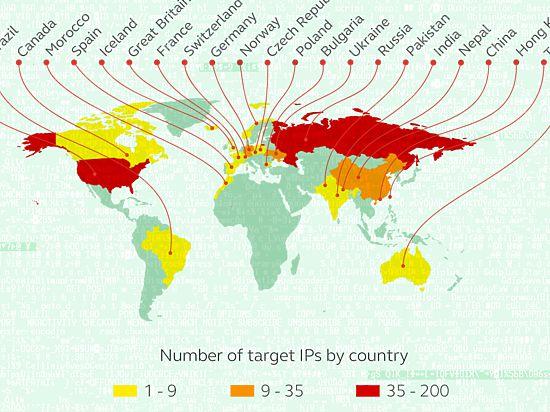 При взломе банков в десятках странах мира больше всего пострадала Россия