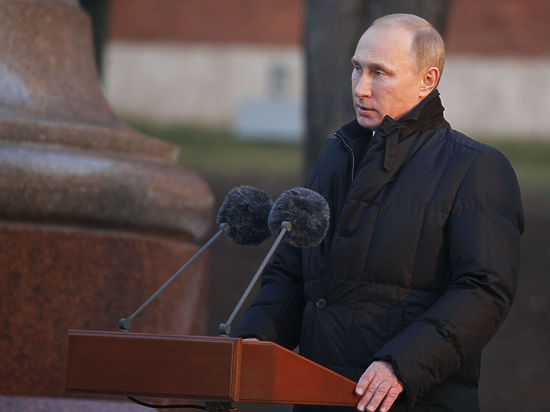 Путин открыл памятник Александру I, вставив шпильку в адрес Франции