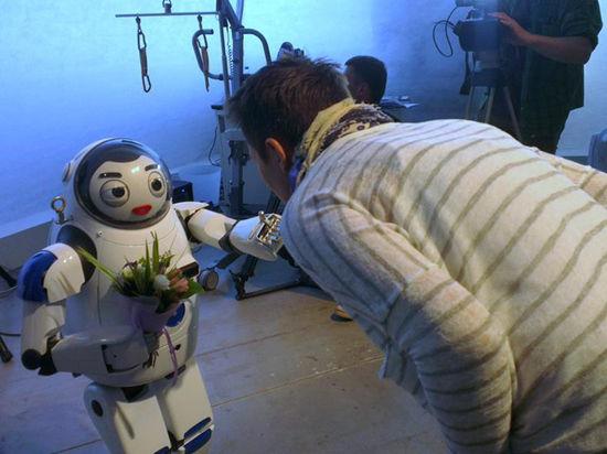 Диане Арбениной признался в любви робот