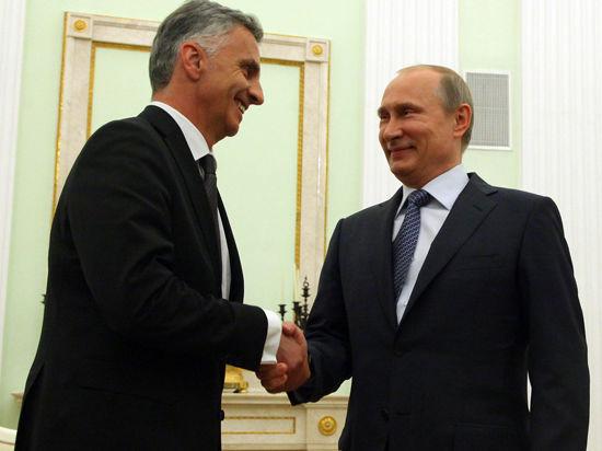 После переговоров с председателем ОБСЕ Дидье Буркхальтером