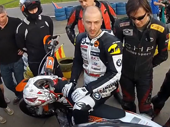 В Москве будут судить чемпиона России по мотокроссу