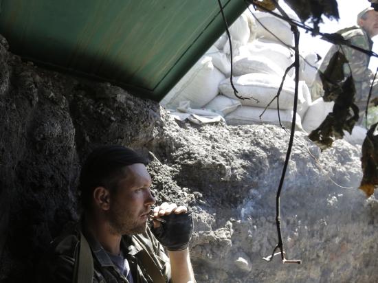 Ополченцы сбили еще один самолет в районе падения