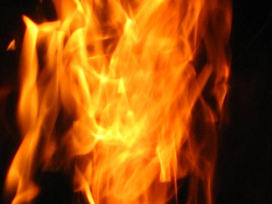 На юге Москвы сгорел рейсовый автобус, пострадал водитель